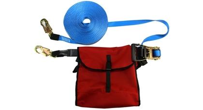 Ae320 horizontal adjustable webbing sling bag
