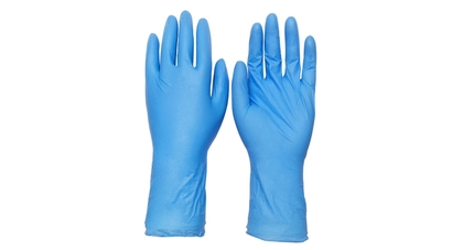 Disposable nitrile gloves  12 inch