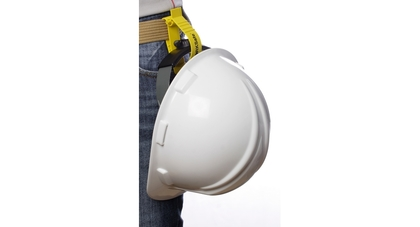 Worksafe helmet catcher emotive 1