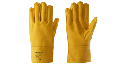 Argon cowhide gloves