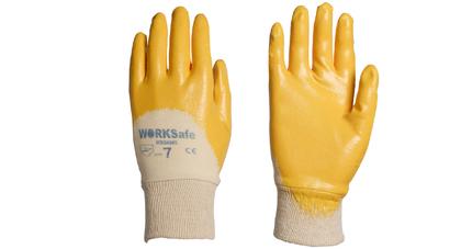 Solvodex super light nitrile gloves