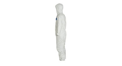 Tyvek coverall left