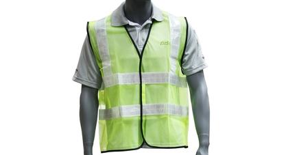 Safety vest lime green