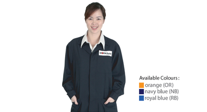 Worksafe protective apparel flame resistant labcoat