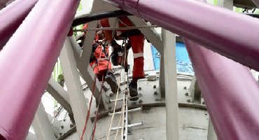 Inspection fall protection equip